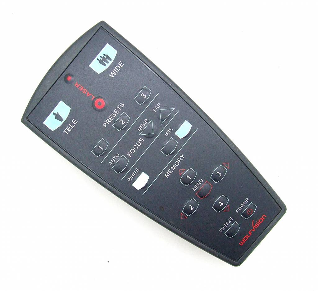 Original WolfVision remote control Laser Class II Laser Product remote control