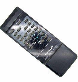 Sharp Original Sharp remote control G0412UM Video Cassette Recorder remote control