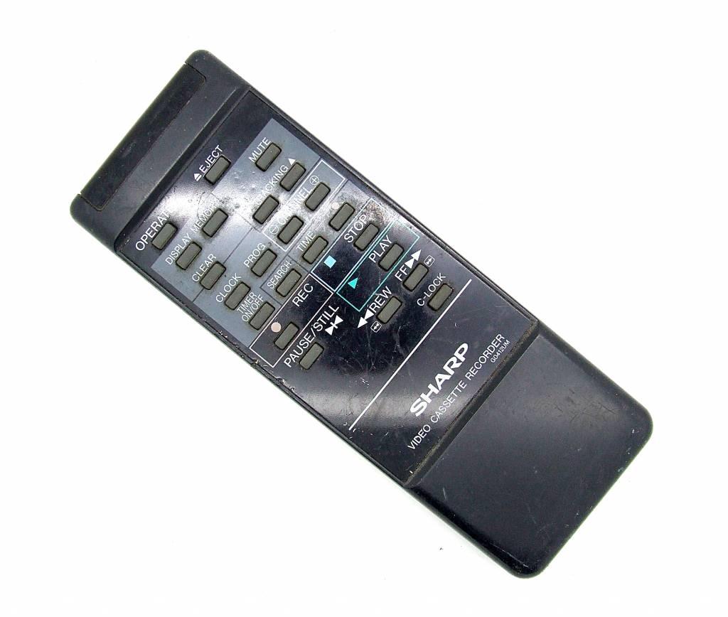 Sharp Original Sharp Fernbedienung G0412UM Video Cassette Recorder remote control
