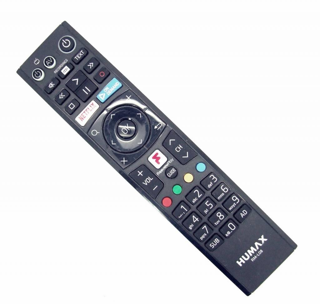 Humax Original Humax Fernbedienung RM-L08 für FVP-4000T Freeview Box remote control