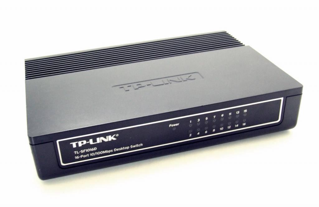 TP-Link TP-LINK TL-SF1016D 16 Port Switch Ethernet Netzwerk 10/100 LAN HubTP-LINK TL-SF1016D 16 Port Switch Ethernet Netzwerk 10/100 LAN Hub