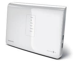 Telekom Telekom Speedport W921V WLAN Router Annex J DSL IP-connection W 921V