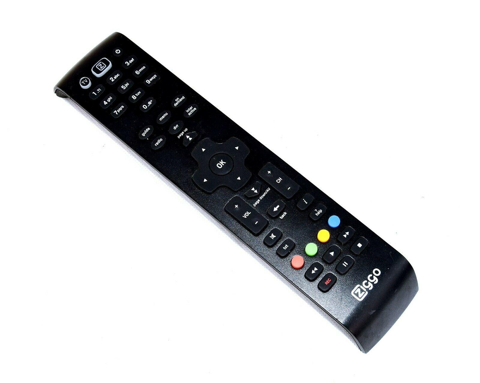 Ziggo Ziggo Original  Remote Control URC 184001-02R00-MAXQ610X-2586