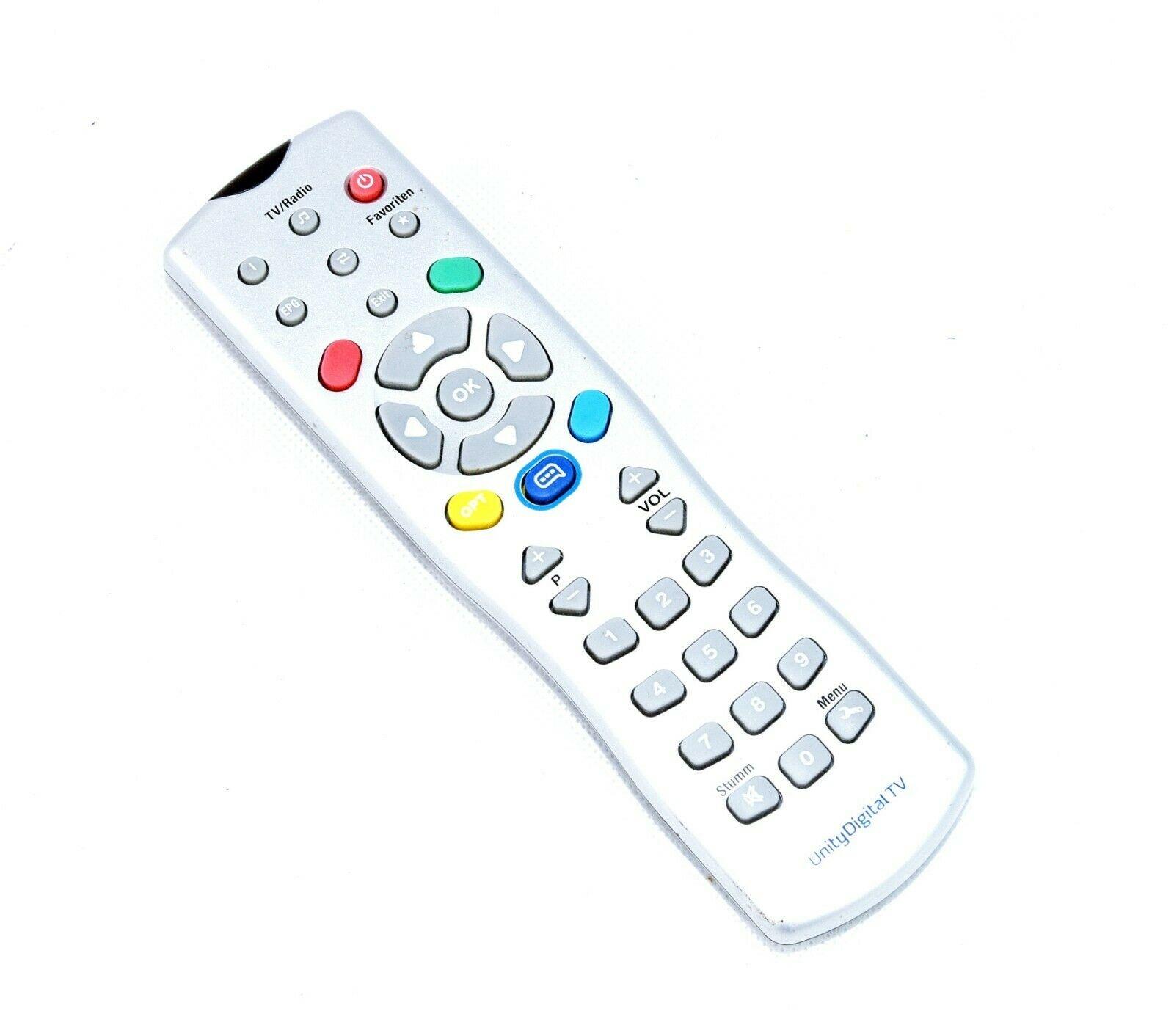 Unity Media Original Unity Media Fernbedienung SF047 für Unity Digital TV DIC 2221 silber