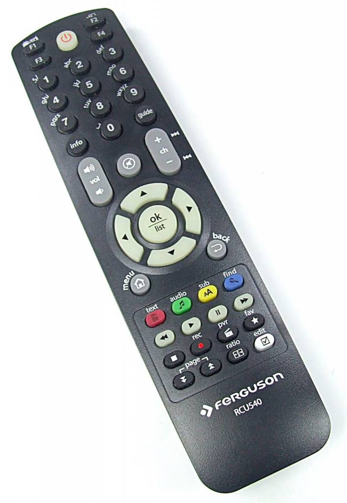 Unikalne Original Ferguson remote control RCU540 for Avira FK - 7000 8500 WU22