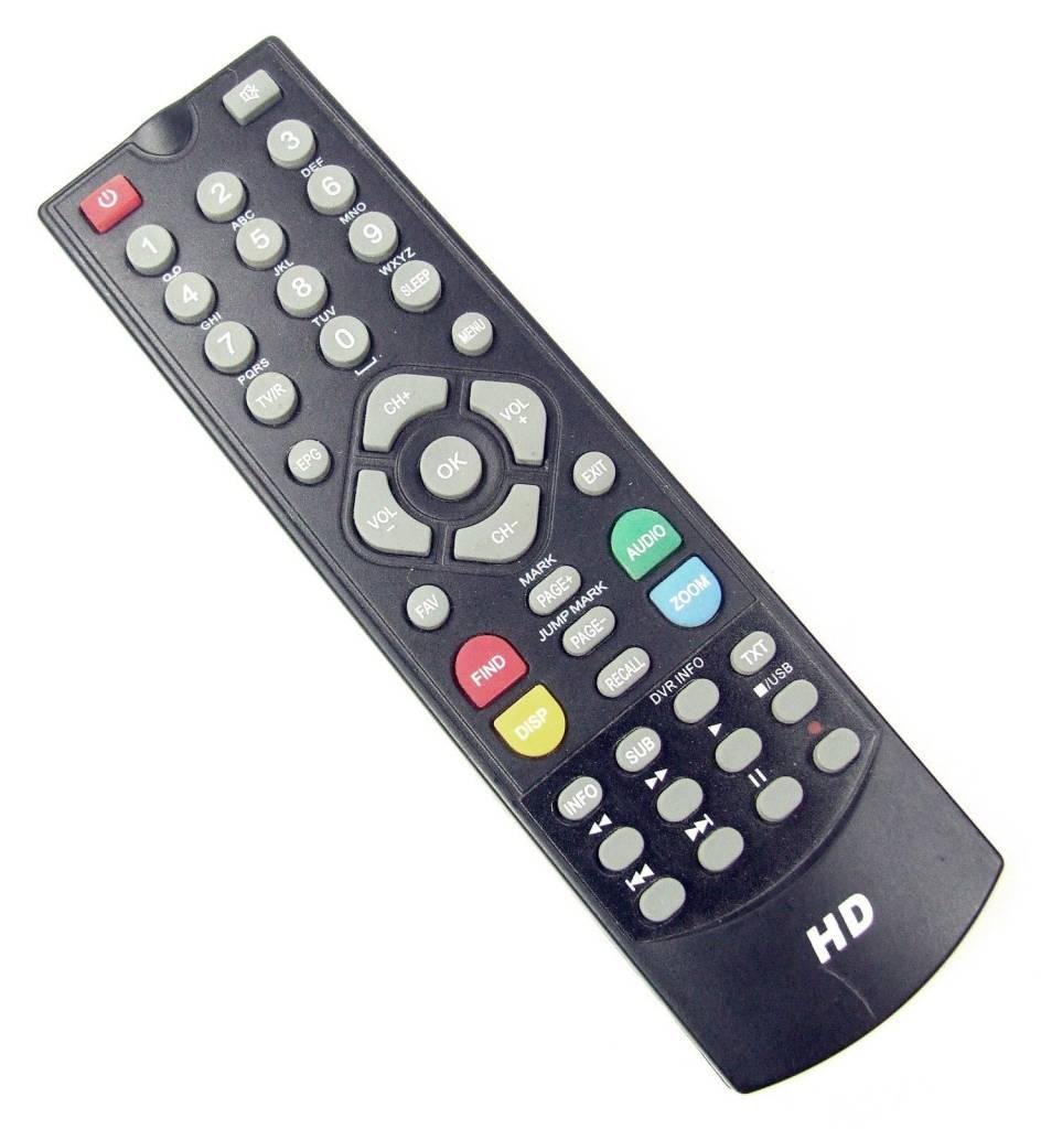 Original remote control for I-SET 810 HD I - Set 810HD Receiver