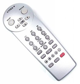 Cyfra+ Original Cyfra+ remote control RC 1823005/00 silver NEW
