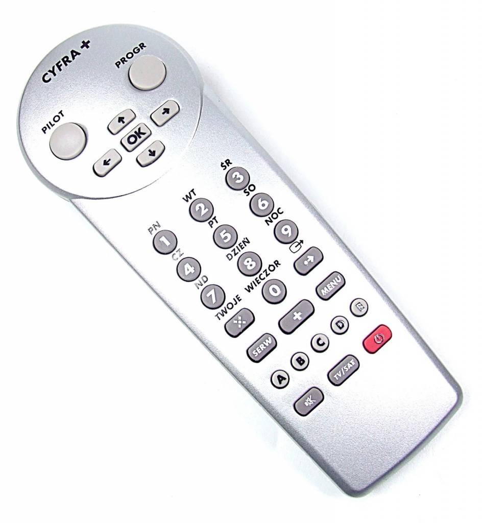 Cyfra+ Original Cyfra+ Fernbedienung RC 1823005/00 remote control silber NEU