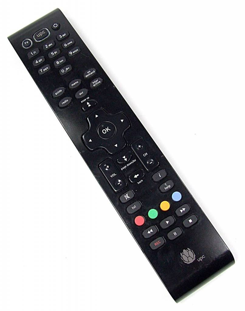 Original remote control UPC Mediabox Cablecom RC2094501/B
