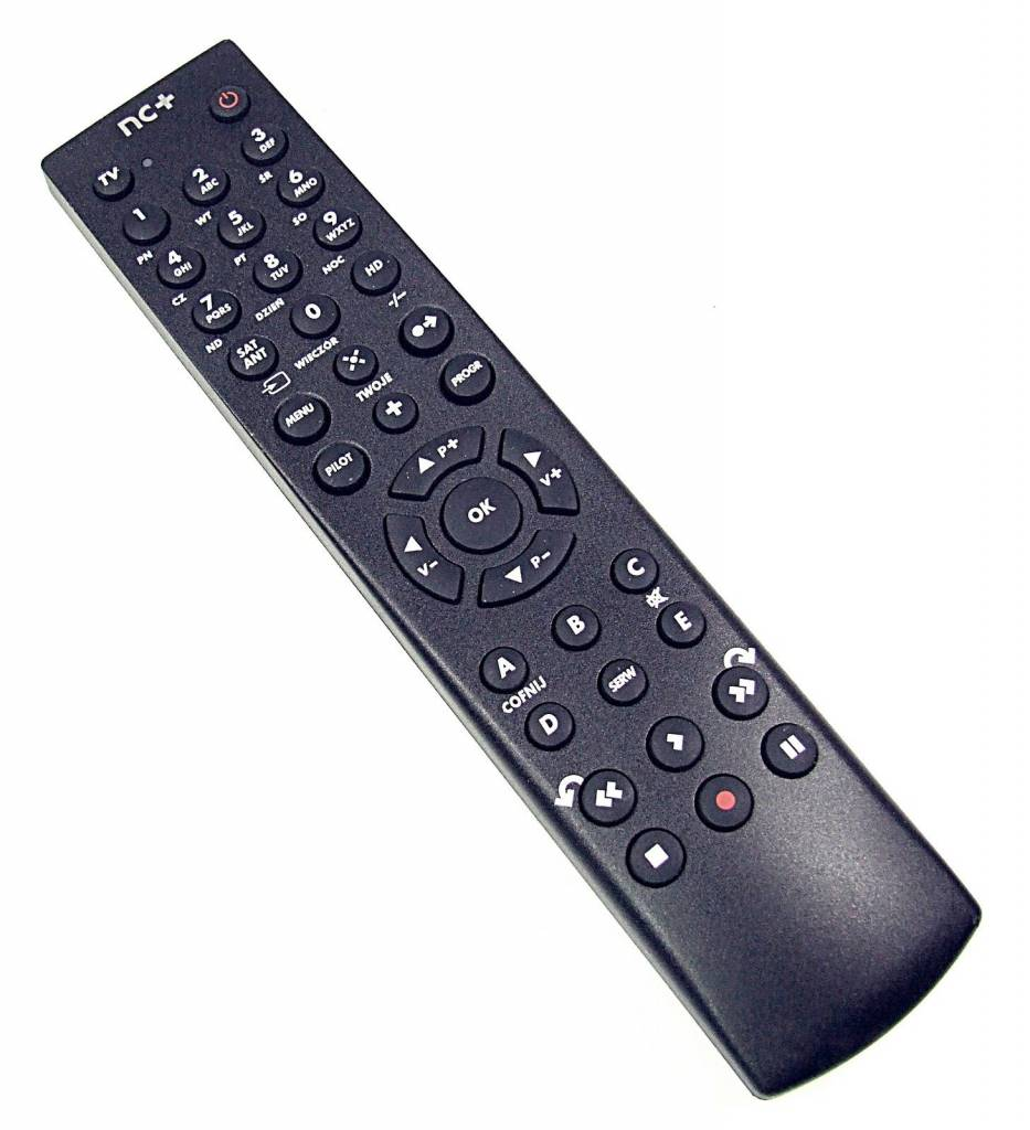 Cyfra+ Original Fernbedienung Pilot NC+ Philips PVR 7201 HD 6201 HDS 7241 Remote