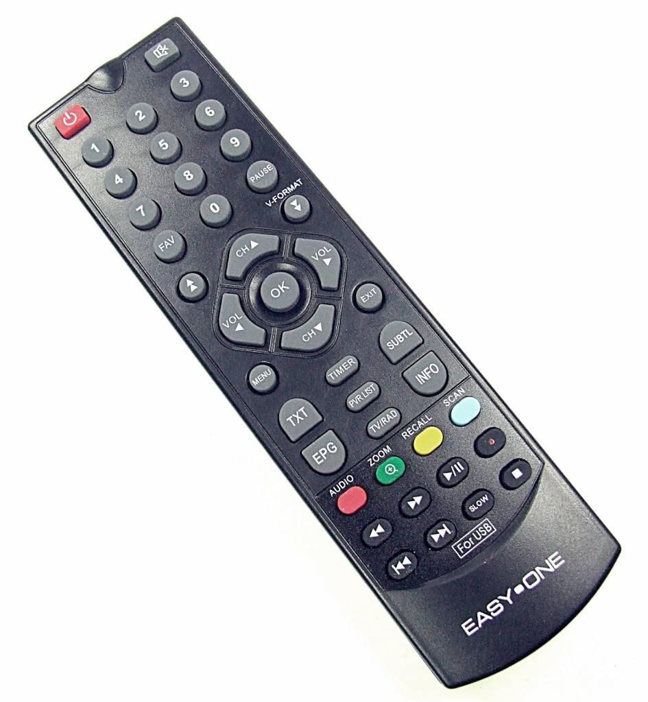 EasyOne Original Fernbedienung für Easy One für USB-T2H Digitaler DVB-T Receiver Easyone