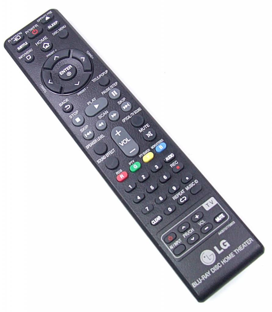 LG Original LG remote control AKB73775803 Blue-Ray Disc