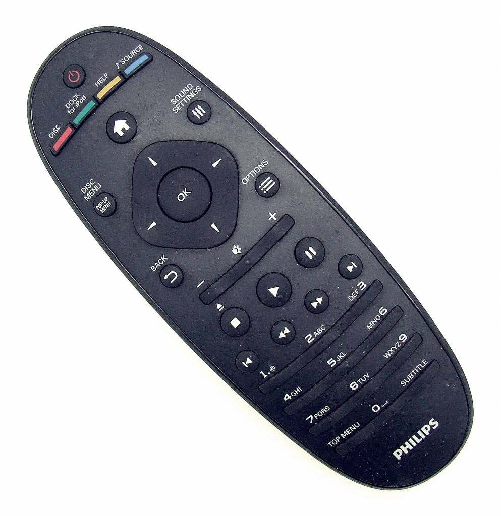 Philips Original Philips remote control 996510041984 YKF291-001 for HTS7202/12 Home Theater System
