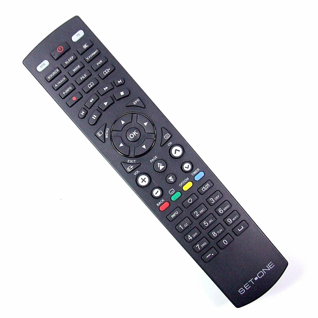 EasyOne SET ONE remote control for TX 9900 SAT Receiver SETONE NEW