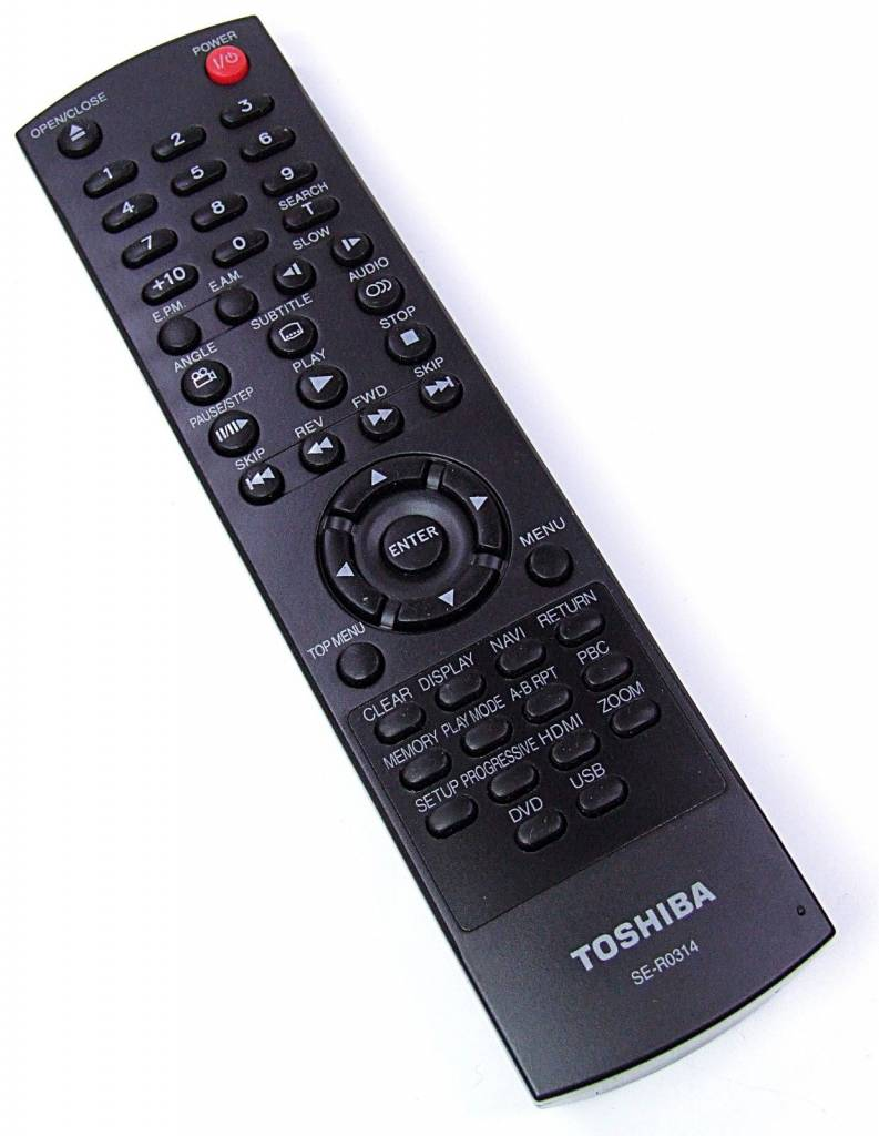 Toshiba Original Toshiba Fernbedienung SE-R0314 Remote Control NEU