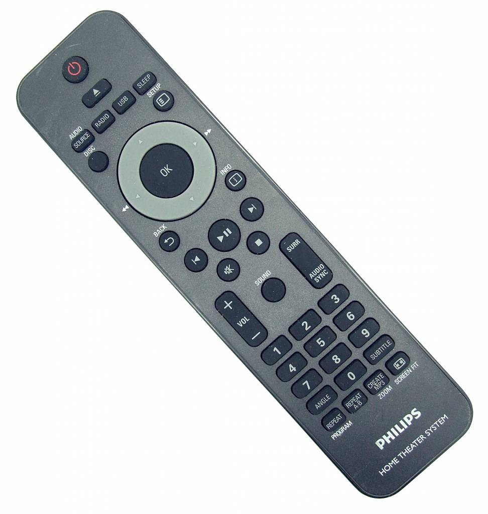Philips Original Philips remote control 314302850451 Home Theater System