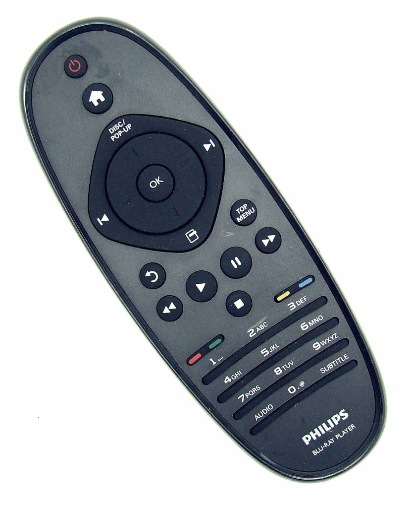 Philips Original Philips remote control 313923819891 RC2683401/01 for BDP9600 Blu-Ray Player