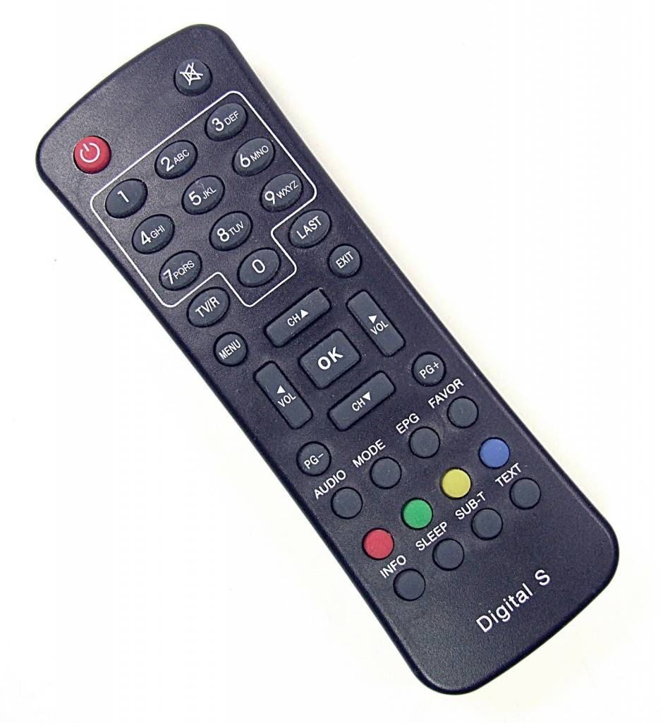 Digital S KT1035-A Original remote control for Digital TV Receiver