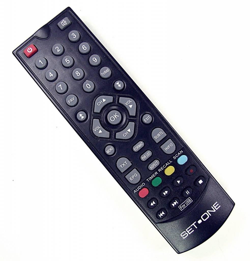EasyOne Original Fernbedienung für SetOne / Titan TX-4500T HD TX4500THD