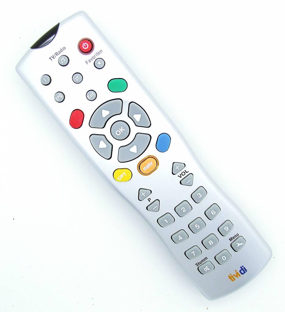 Original Tividi remote control for Techno Trend TT-micro Receiver