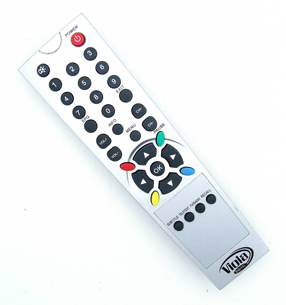 Original Viola Digital remote control DI-090620-D silver