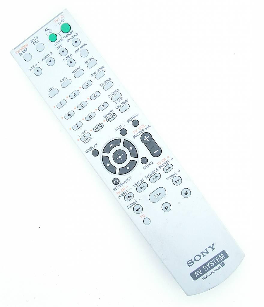 Sony Original Remote Control Rm Aau006 Av System