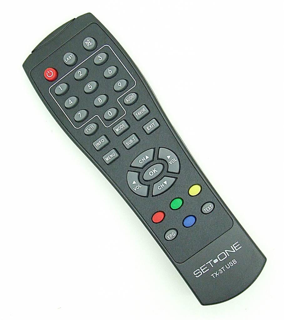 EasyOne Original Fernbedienung SetOne TX-3T USB Remote Control TX3T USB