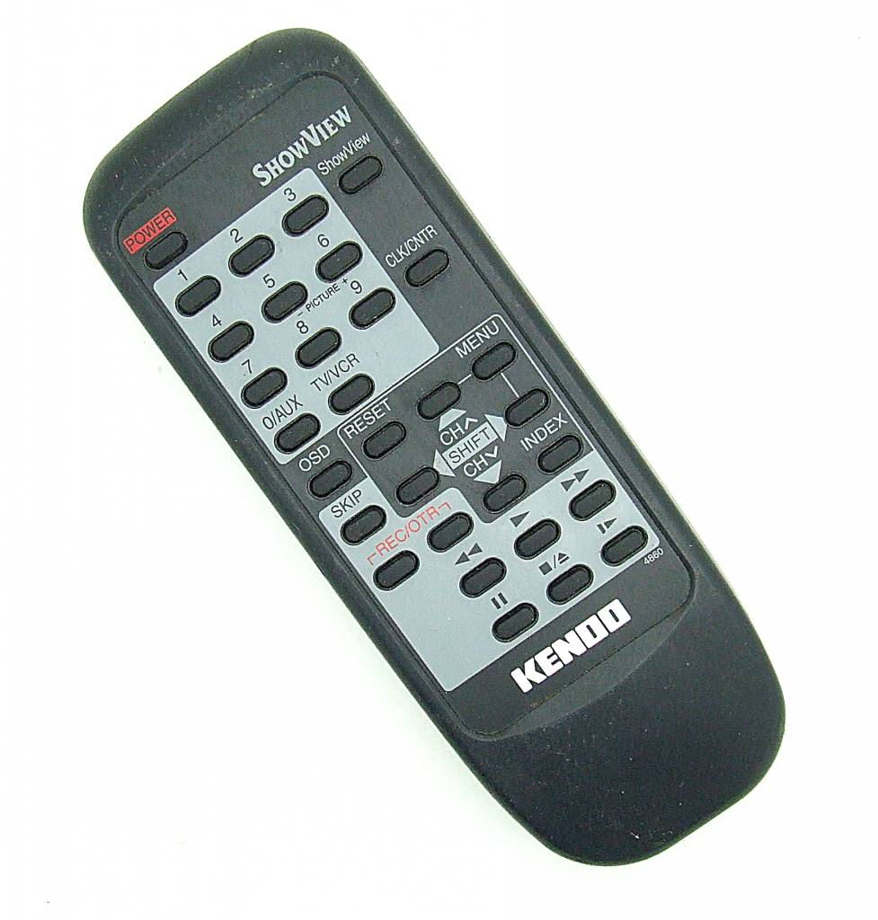 Original Kendo remote control for VHS-Videorecorder