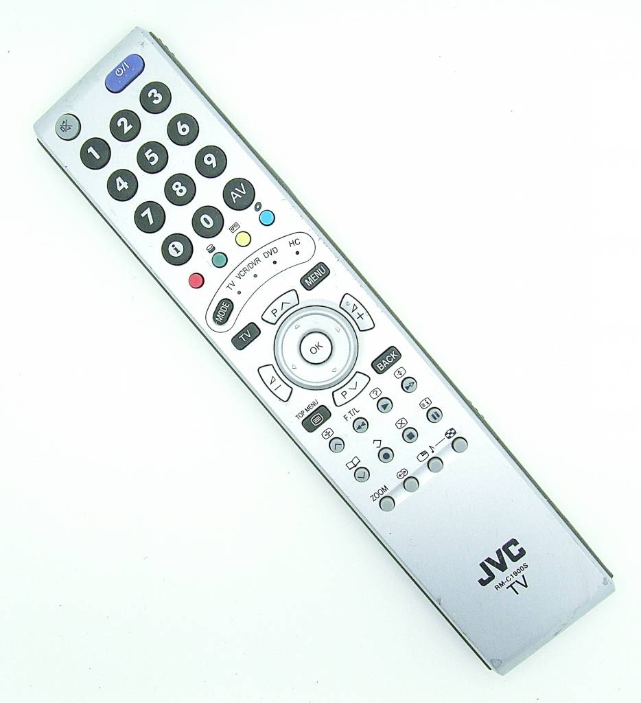 JVC Original JVC Fernbedienung RM-C1900S / RMC1900S Remote Control