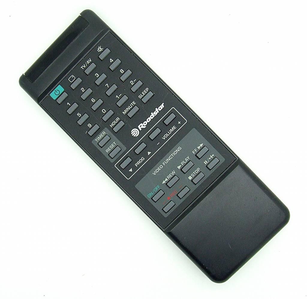Original Fernbedienung Roadstar für Videorecorder Remote Control