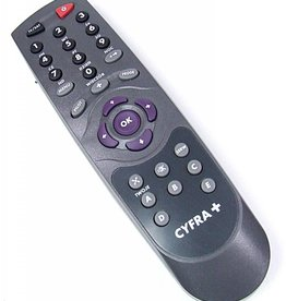 Cyfra+ Remote control PILOT CYFRA+ Mediasat Pace CP-3000, Goldbox 7, Pace 2221, Pace 223