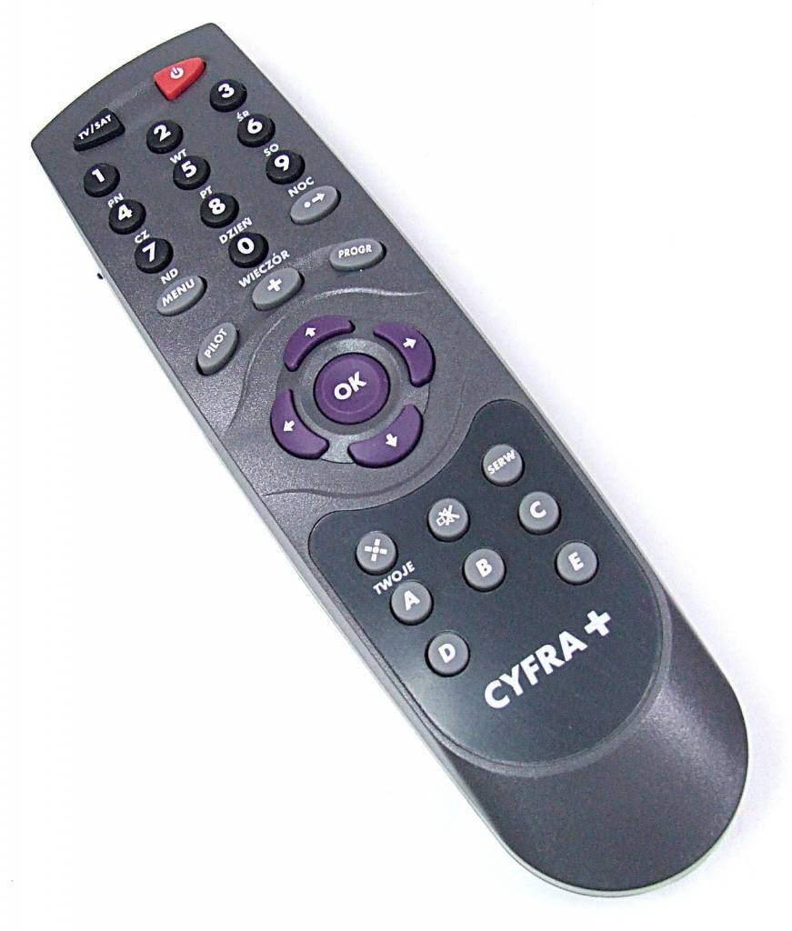 Cyfra+ Remote control Pilot CYFRA+ Kenwood DTF-1 DTF-2 Sony TS1 Philips DSR 3201 NEW