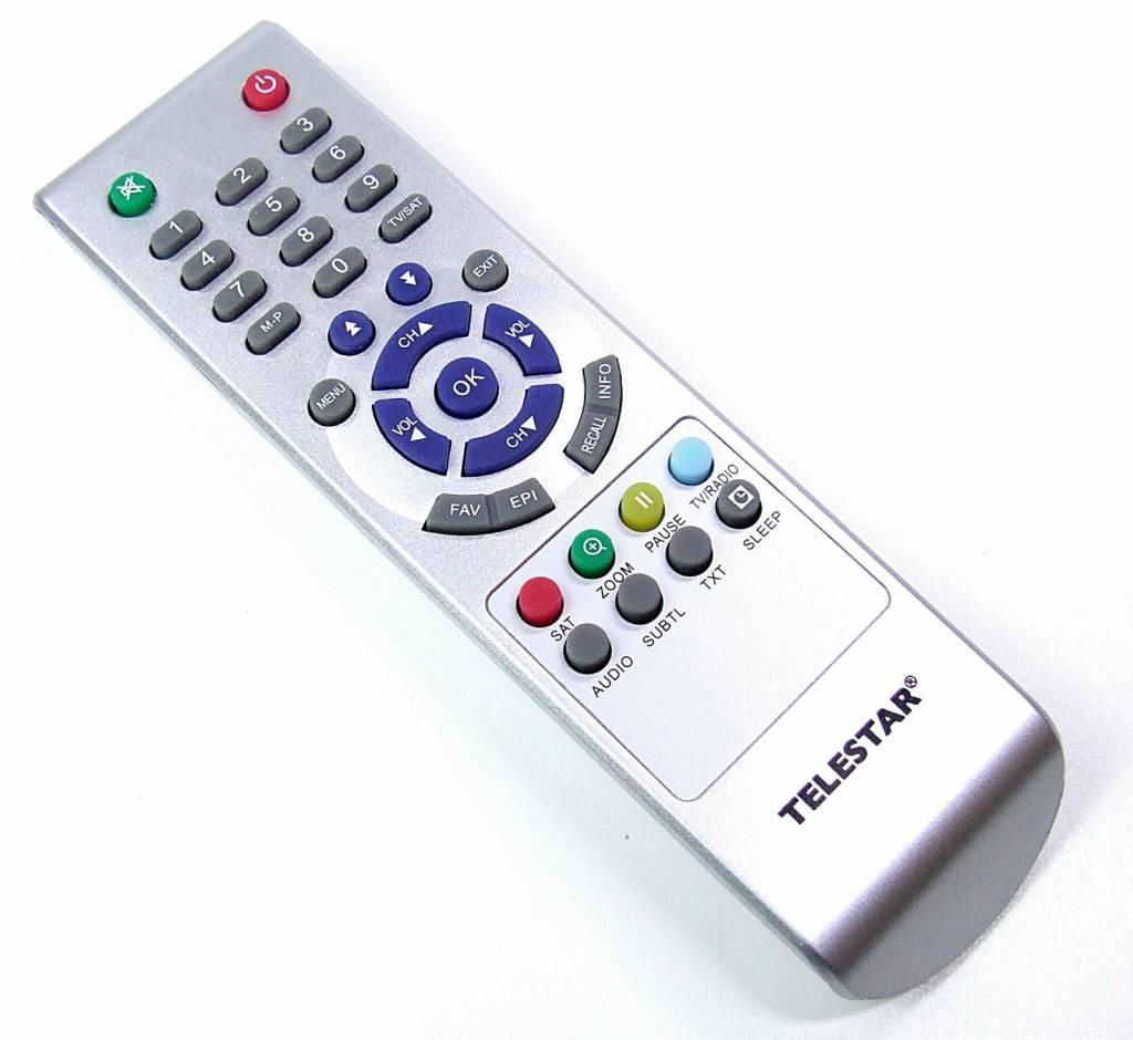 Telestar Original TELESTAR Fernbedienung für TELESTAR TD 1000T 1000 T silber
