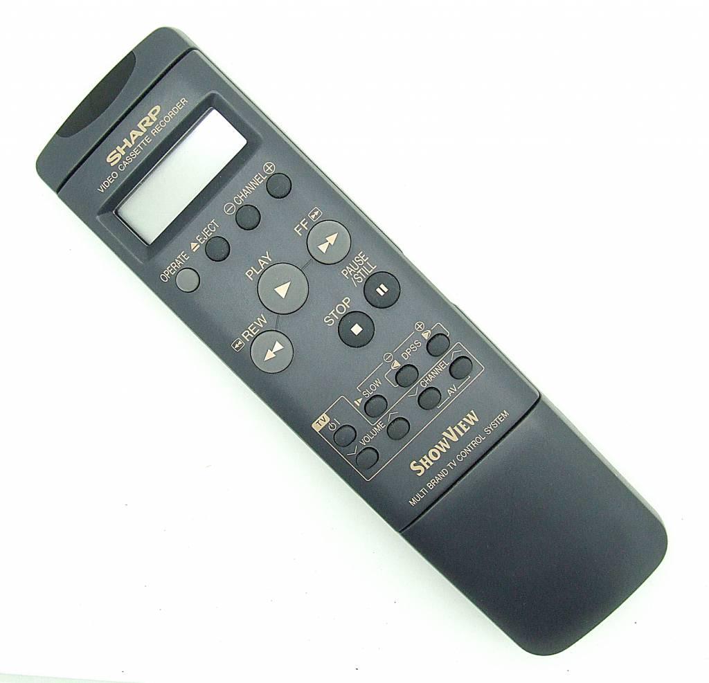 Sharp Original Fernbedienung Sharp G1024GE für Videorecorder