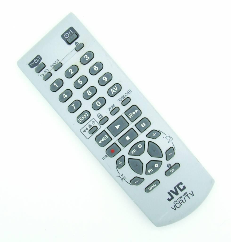 JVC Original JVC TV Video VCR remote control LP21138-005