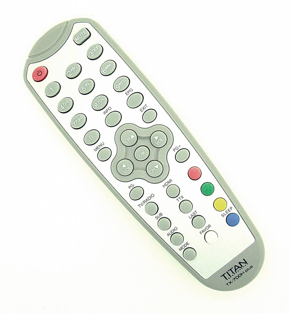 Original remote control Titan TX-700H plus