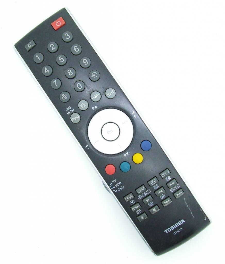 Toshiba Original Toshiba Fernbedienung CT870 Remote Control CT-870