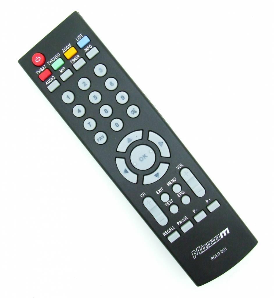 Original remote control Microm RG417 DS1