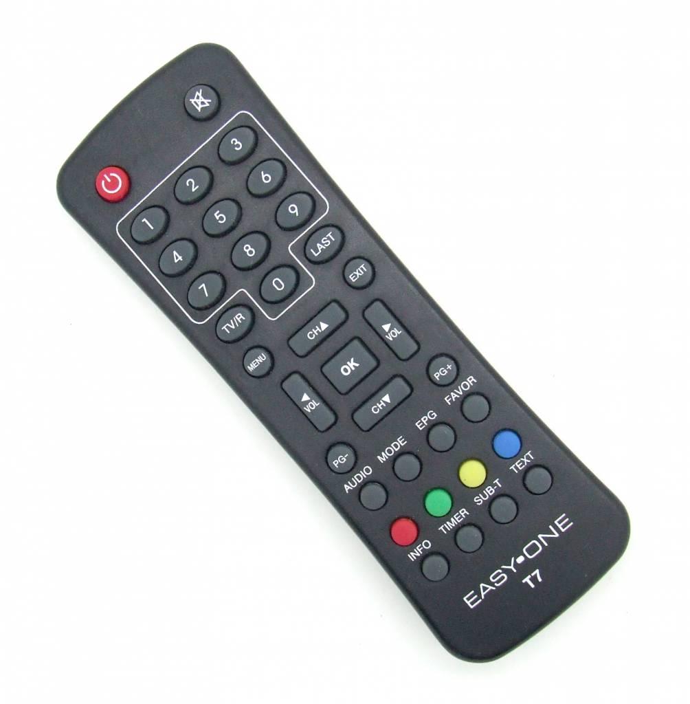EasyOne Original Fernbedienung Easy One T7 DVB-T Receiver EasyOne Remote