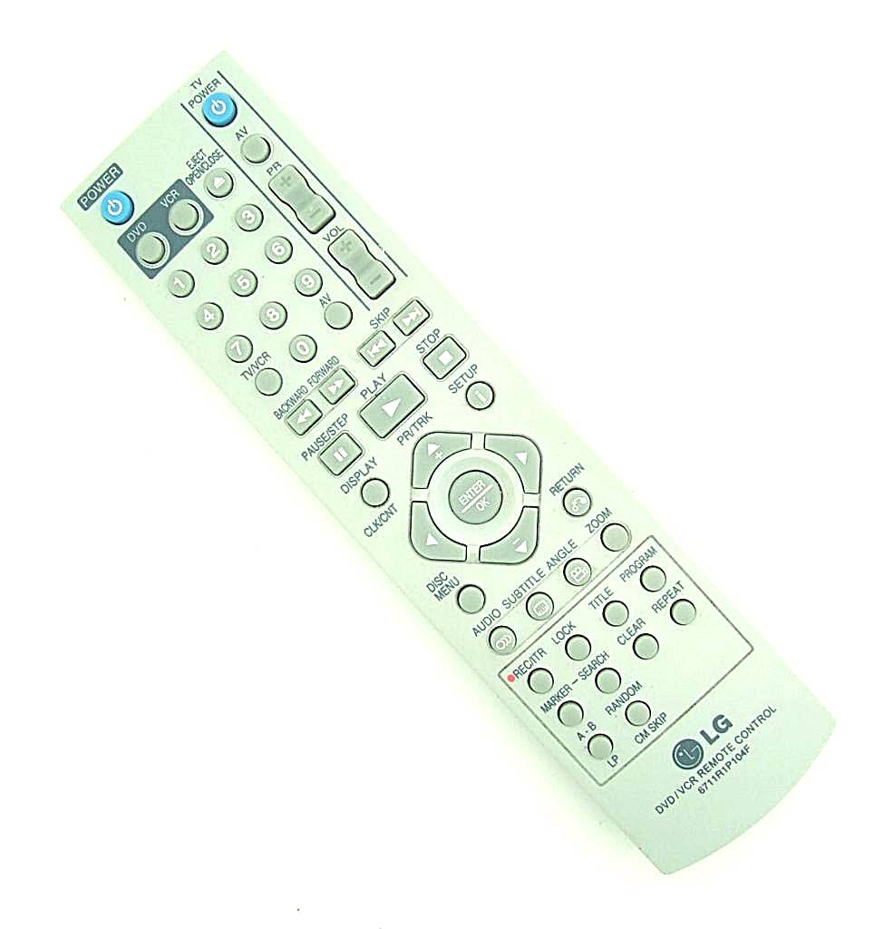 LG Original LG Fernbedienung 6711R1P104F DVD/VCR Remote control