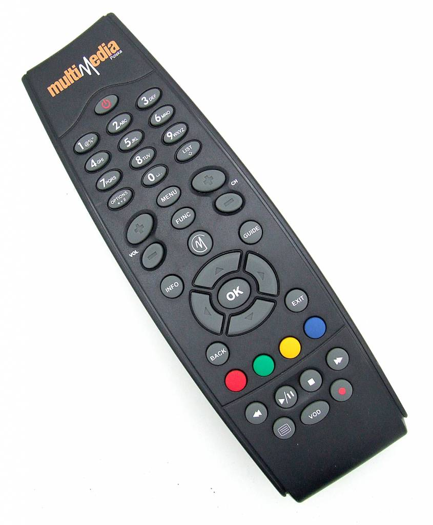 Original Fernbedienung MultiMedia Polska RC-39870R00-15 Pilot Dreambox Remote Control