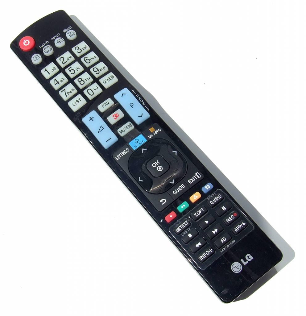 LG Original Fernbedienung LG AKB73615303 für LG 3D Smart TV Remote Control