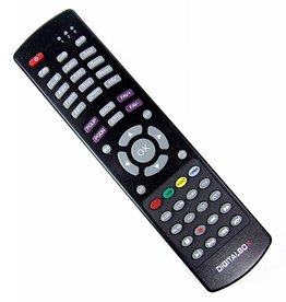 Digitalbox Original DigitalBox remote control for IMPERIAL HD 2 basic 77-5008-00