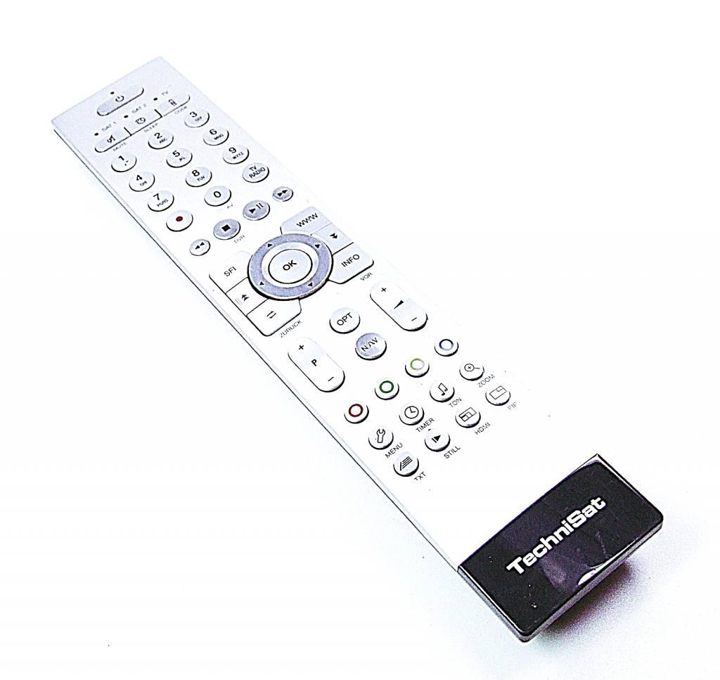 Technisat Original TechniSat TechniControl Plus Fernbedienung FBDVR451S für Isio MultyVision HDTV silber 0001/3854
