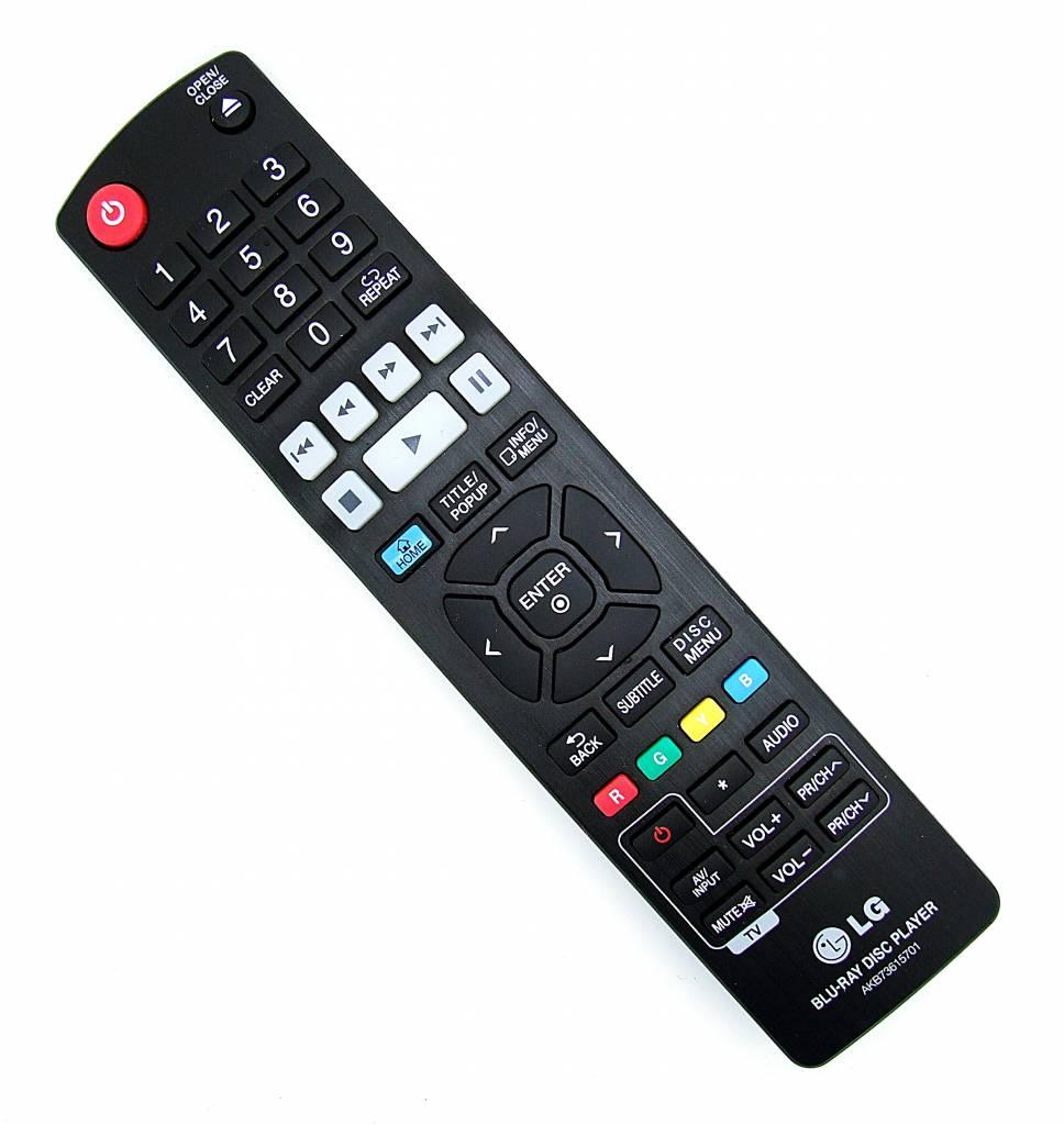 Original LG remote control AKB73615701 Blu-Ray Disc Player