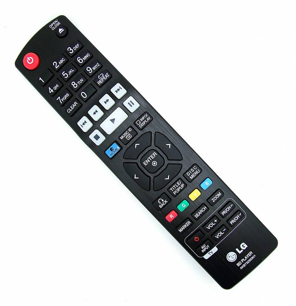 LG Original LG remote control AKB73295901 for BD670 BD Player
