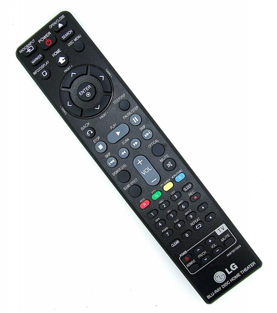 LG Original LG remote control AKB73315303 Blu-Ray Disc Home Theater