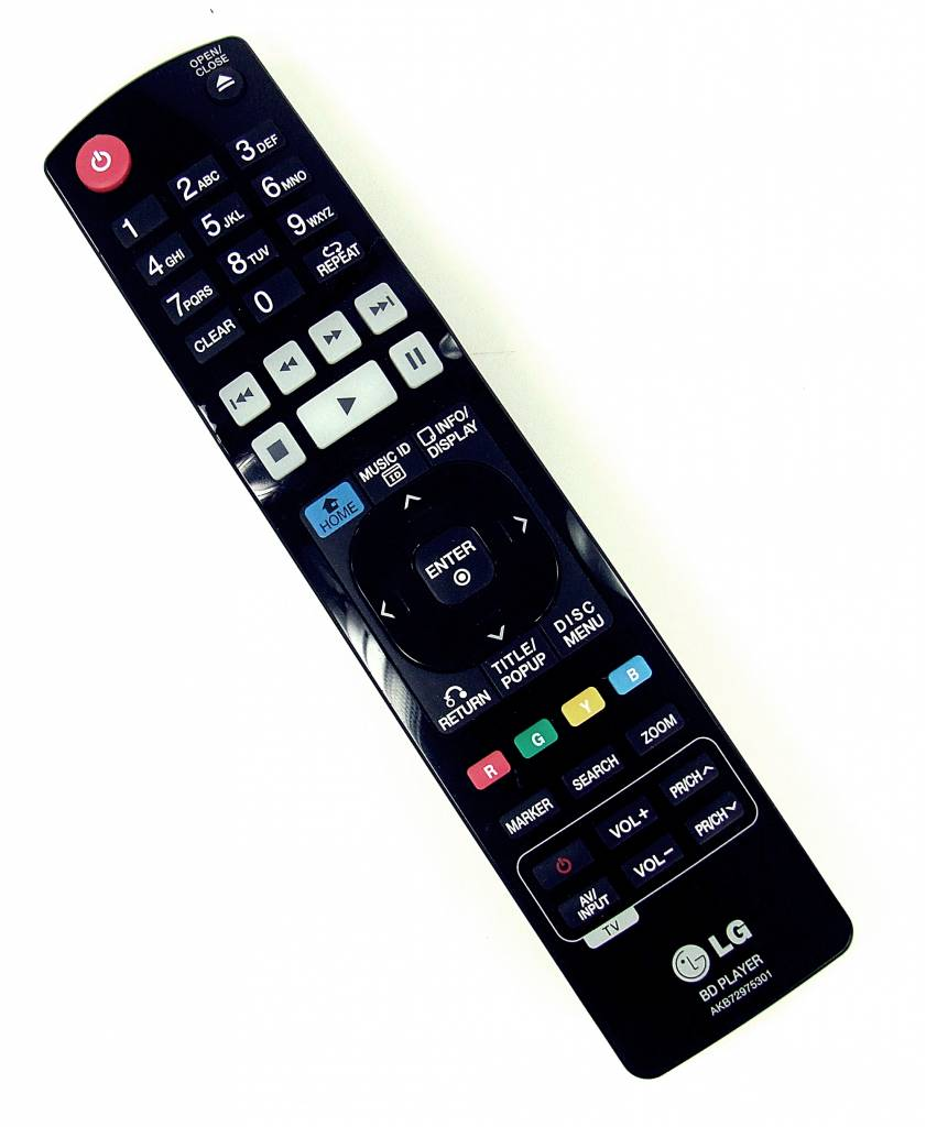 Original remote control LG AKB72975301 BLU-RAY Player