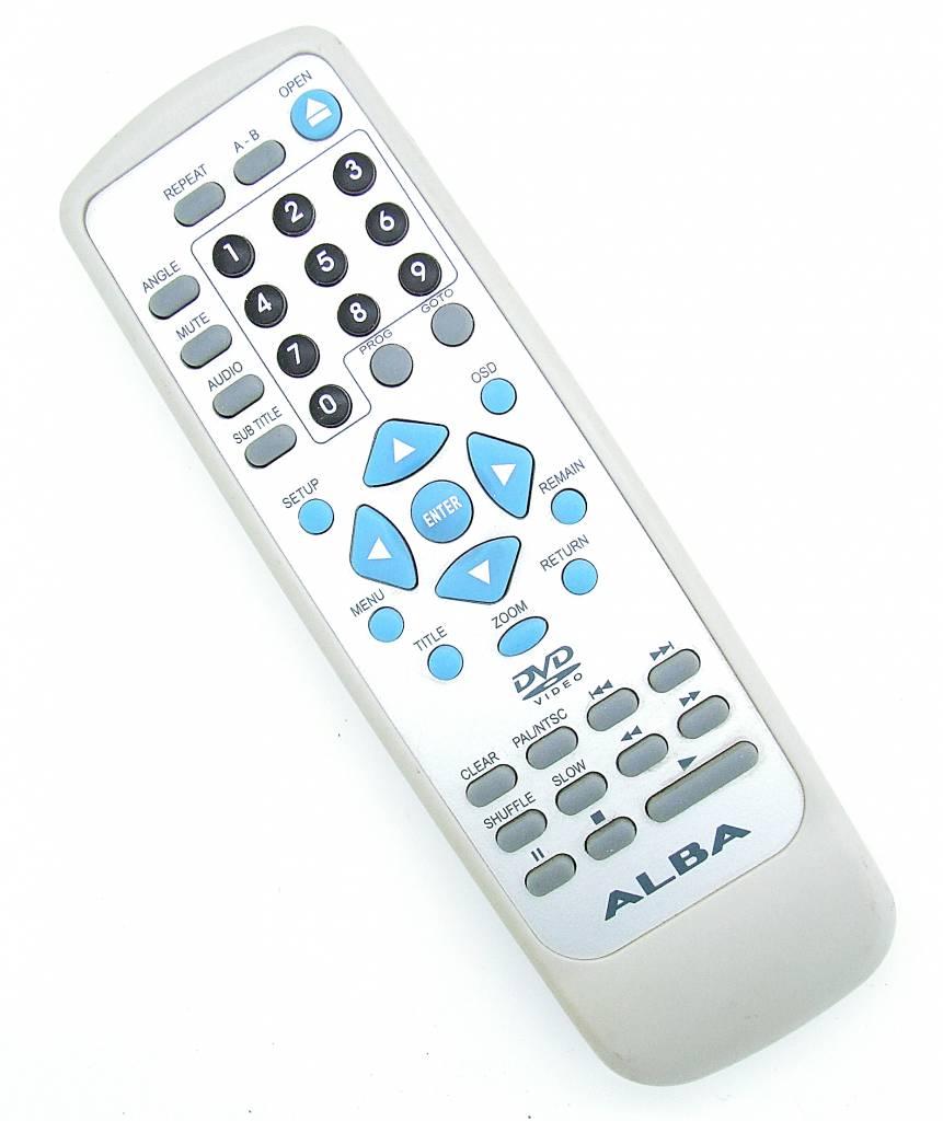 Original ALBA Fernbedienung für DVD / Video Remote Control