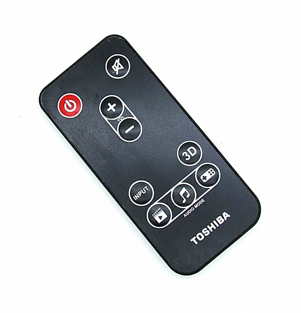 Toshiba Original Toshiba Fernbedienung für Mini 3D Soundbar